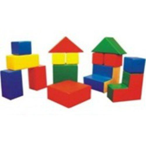 Детский конструктор «Архитектор» (16 модулей),(Размер: куб 20см)