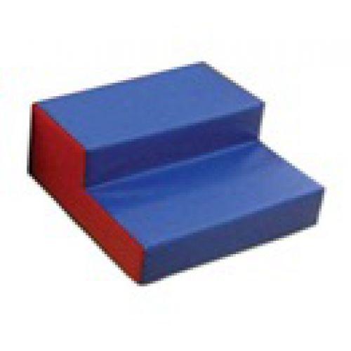 Детский игровой модуль Лестница 2 ступеньки 60см*60см*60 см