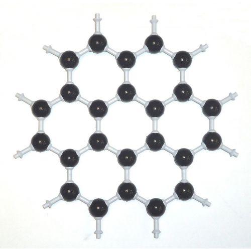 Кристаллическая решетка графена