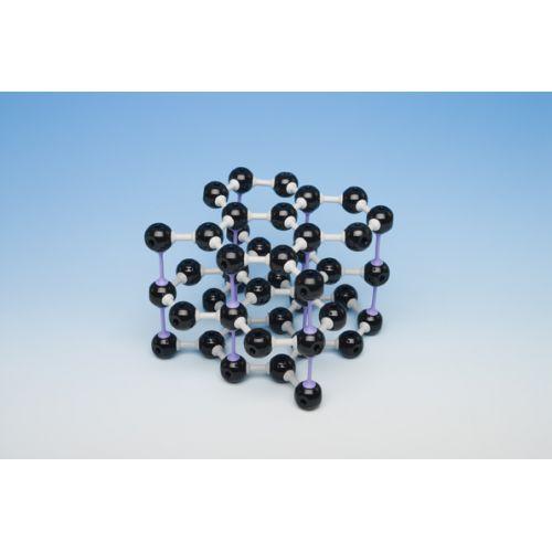 Кристаллическая решетка графита (45 атомов, 67 связей)
