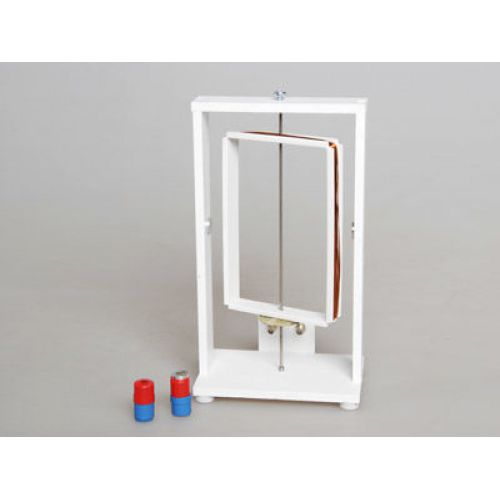 Прибор для демонстрации вращения рамки в магнитном поле (с магнитами)