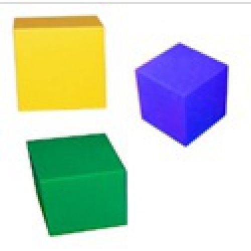 Куб деревянный 50 см
