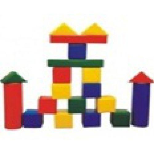 Детский конструктор «Архитектор» (20 модулей),(Размер: куб 20см)