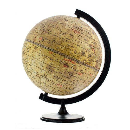 Глобус Луны диаметром 320 мм с подсветкой