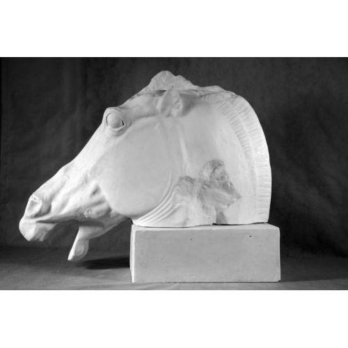 Гипсовая голова Лошадь