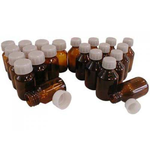 Набор склянок и банок для лабораторных работ