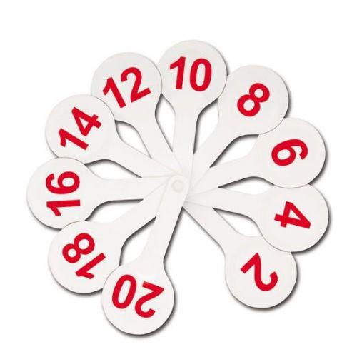 Касса-веер цифры от 1 до 20
