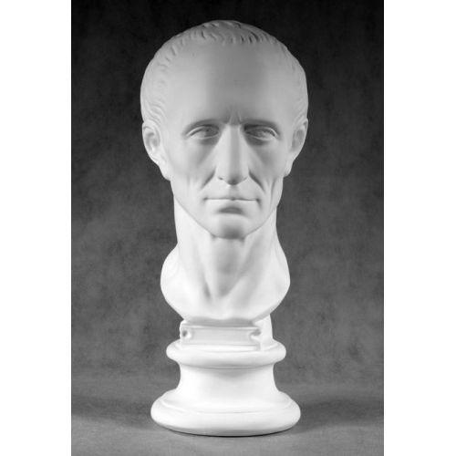 Гипсовая голова Гай Юлий Цезарь
