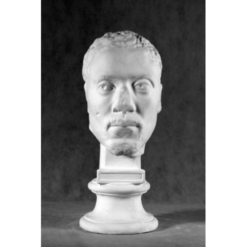 Гипсовая голова Негра