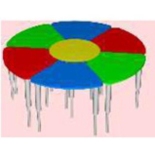 Стол Ромашка, регулируемый по высоте цвет