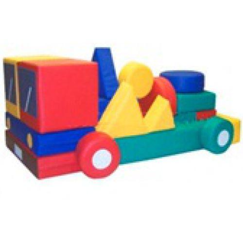 Детский конструктор «Грузовик»(30 модулей) (Размер: куб 30см)