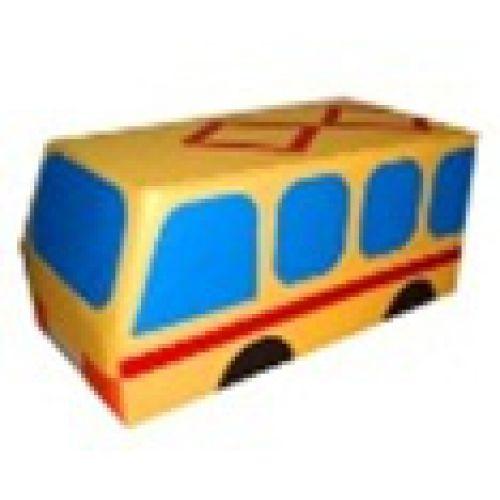 Машина Трамвай мягкий модуль