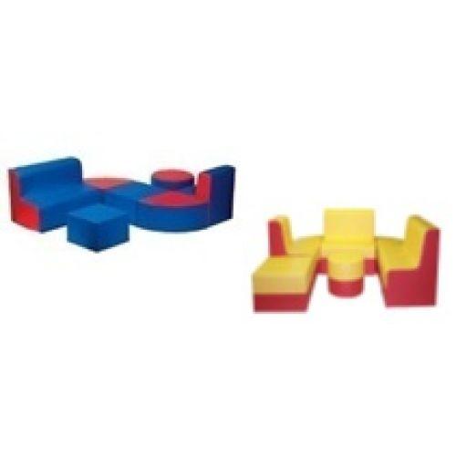 """Детский комплект мягкой мебели """"Трансформер"""""""