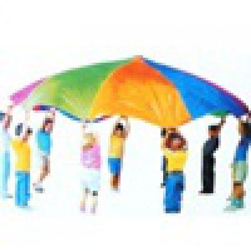 Детский игровой парашют, d 350 см