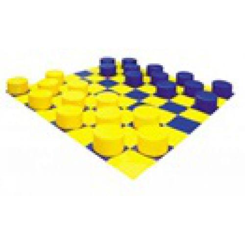 Детский игровой набор «Шашки» ( 25 модулей)