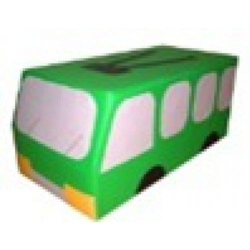 Машина Троллейбус мягкий модуль