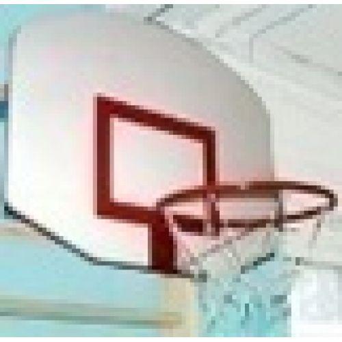 Щит баскетбольный (навесной на шведскую стенку) 45 см