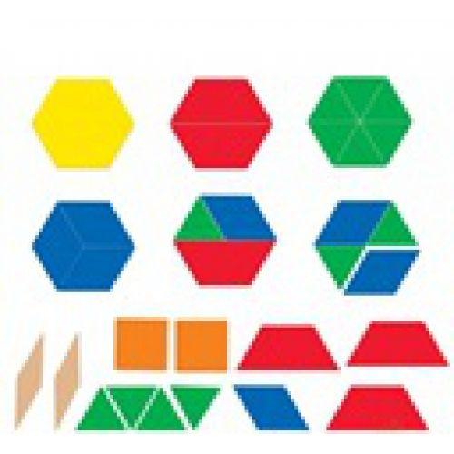 Блоки геометрические магнитные демонстрационные