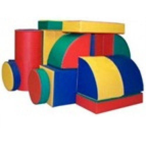 Детский конструктор «Машина»(21 модулей) (Размер: куб 30см)