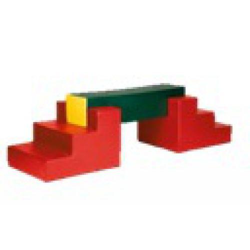 Детский спортивный комплекс 1 (3 модуля)