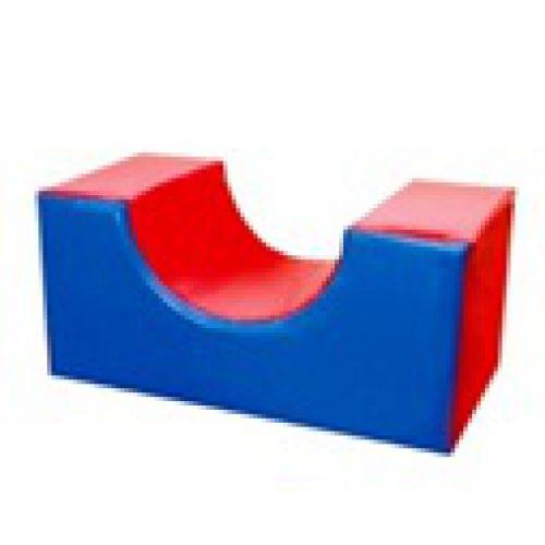 Детский игровой модуль Опора-полукольцо 75см*25см*25 см