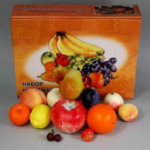Набор муляжей фруктов (большой)