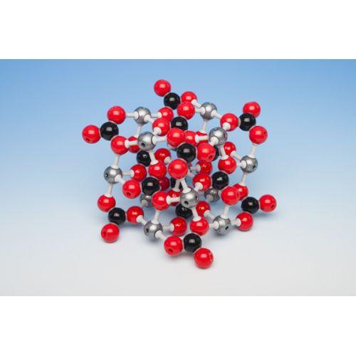 Кристаллическая решетка кальцита (карбоната кальция)