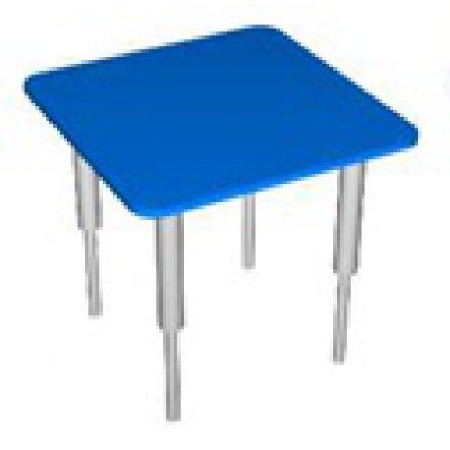 Стол квадратный, регулируемый по высоте цвет