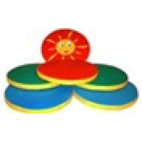 Детские игровые маты «Солнышко» 6 шт