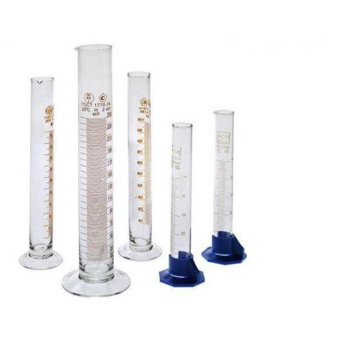Комплект мерных цилиндров стеклянных (5 шт.)