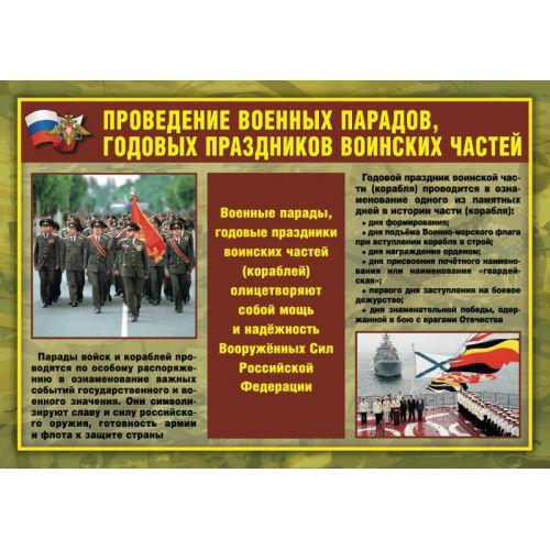 """Комплект плакатов """"Воинские ритуалы"""""""