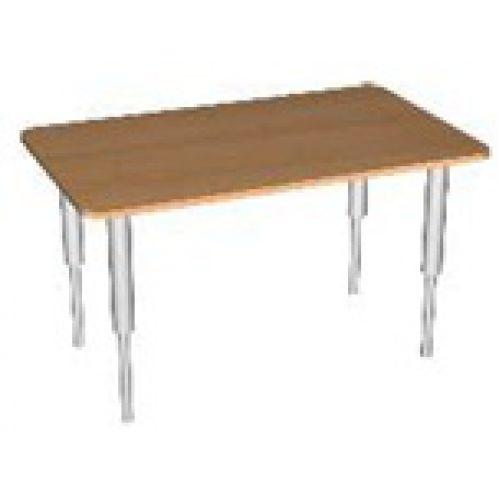 Стол прямоугольник, регулируемый по высоте бук