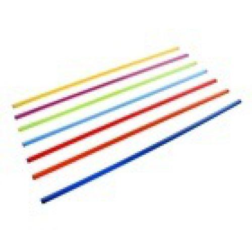 Палка гимнастическая пластмассовая 100 см