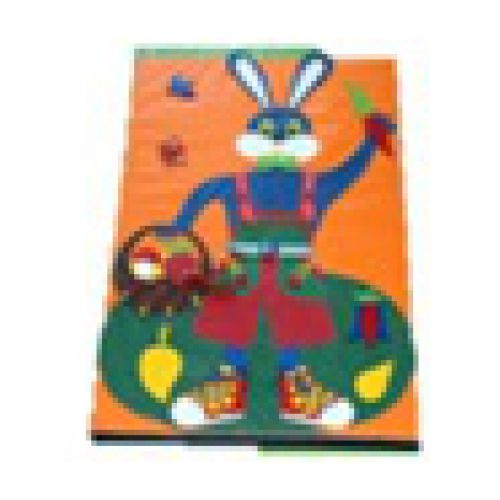 Детское игровое дидактическое панно «Заяц»