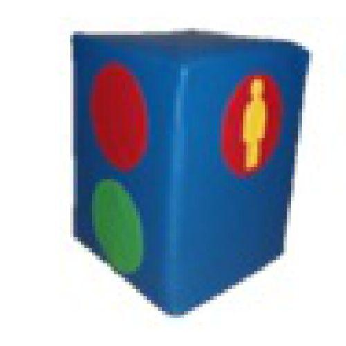 Светофор пешеходный мягкий модуль