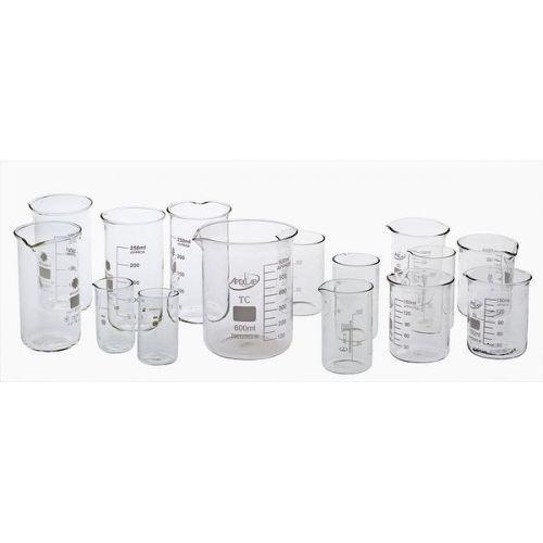 Комплект стаканов химических 15 шт