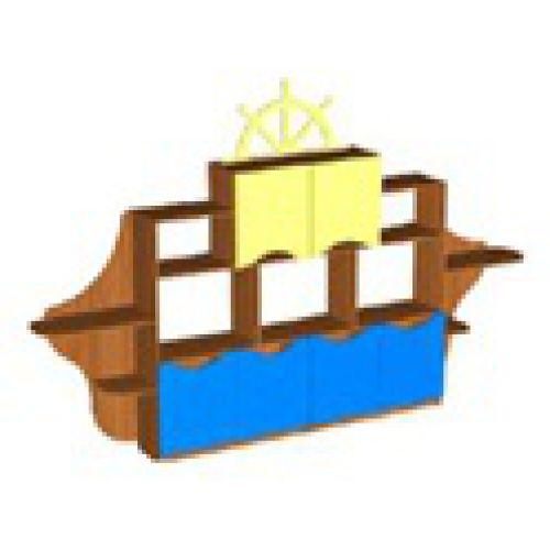 Стеллаж Корабль бук