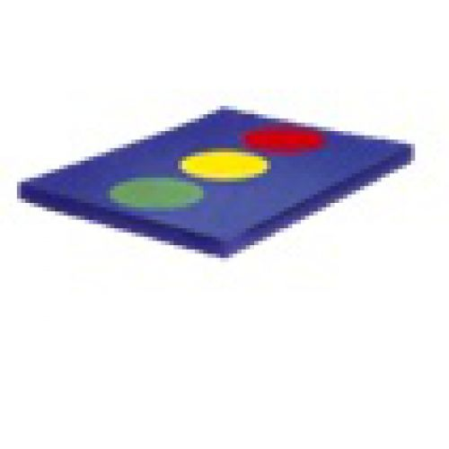 Детский игровой мат «Светофор 2»