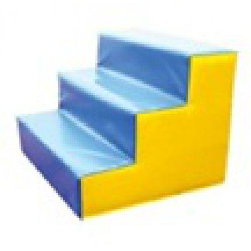 Детский игровой модуль Лестница 3 ступеньки 60см*60см*30 см