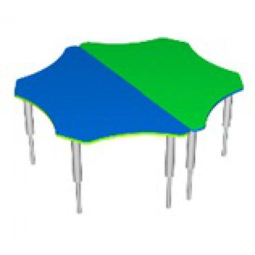 Стол Фиалка, регулируемый по высоте цвет
