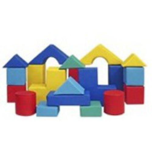 Детский конструктор «Малыш»(20 модулей),(Размер: куб 20см)