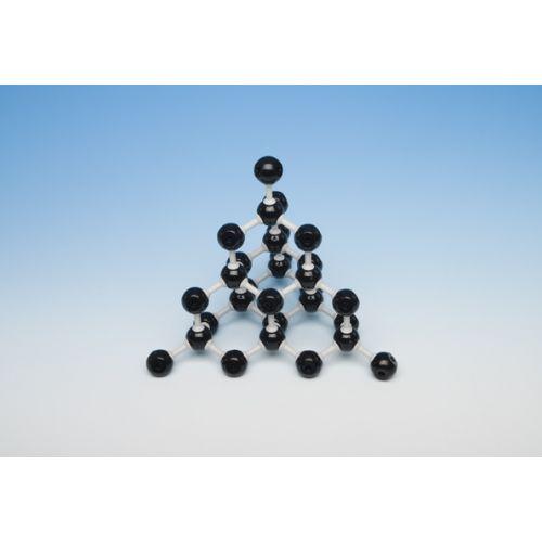 Кристаллическая решетка алмаза (30 атомов, 40 связей)