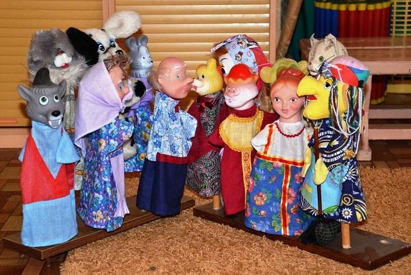 Я кукольного театра своими руками в детском  790