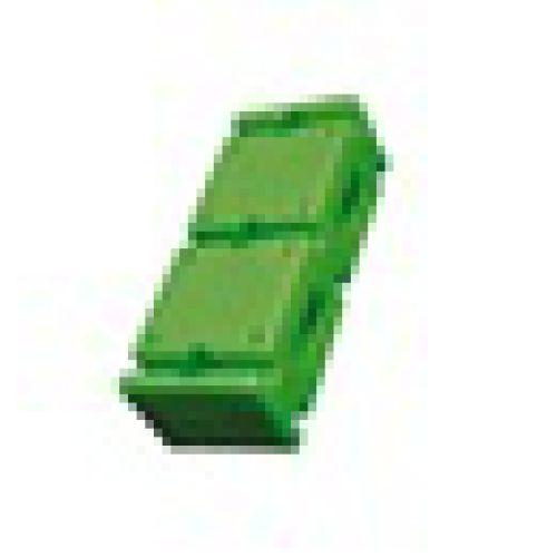 Кирпичик пластмассовый