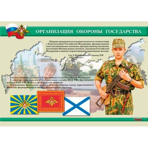 "Комплект плакатов ""На службе Отечеству"""