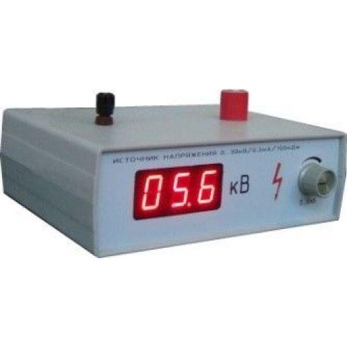 Источник высоковольтный регулируемого напряжения 0...30 кВ (однополярный)