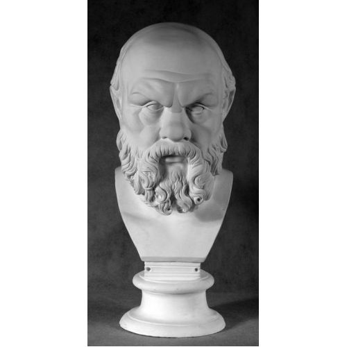 Гипсовый бюст Сократ (Стилизованный)