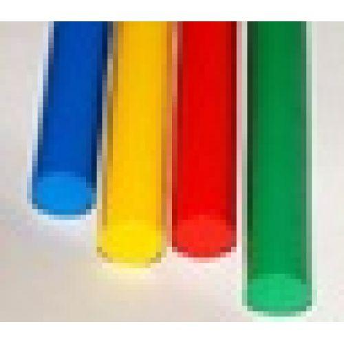 Палка гимнастическая деревянная цветная