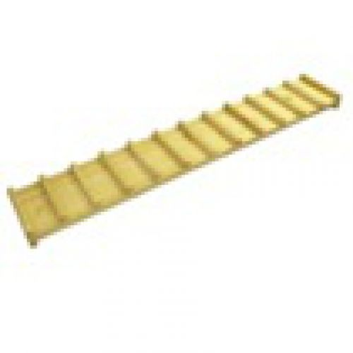 Доска с ребристой поверхностью, фанера 150*25 см